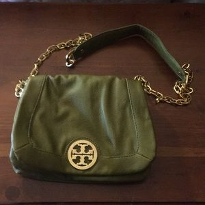 Tory Burch Lime Green purse